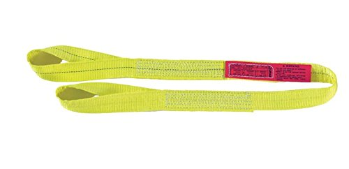 Liftall EE2601DTX5 Polyester Web Sling, 2-ply, Eye and Eye, Twisted Eye, 1 Width x 5' Length liftall ee2601dtx5 polyester web sling 2 ply eye and eye twisted eye 1 width x 5 length