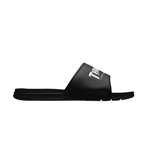 HUF Men's X Thrasher Slide Athletic Sandal, Black/Mint, 10 US/10 M US