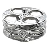 4 Plate Steel Idli Maker