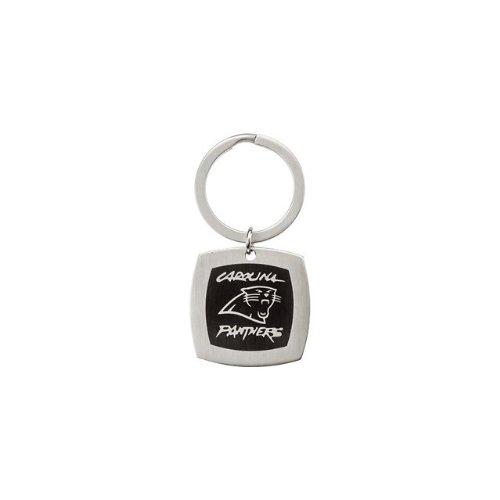 24619 St Steel 35mm Carolina Panthers Logo Keychain Football NFL Men Team Jewelry