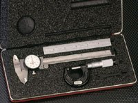 Starrett 65122 Basic Measuring Tool Set #s909z
