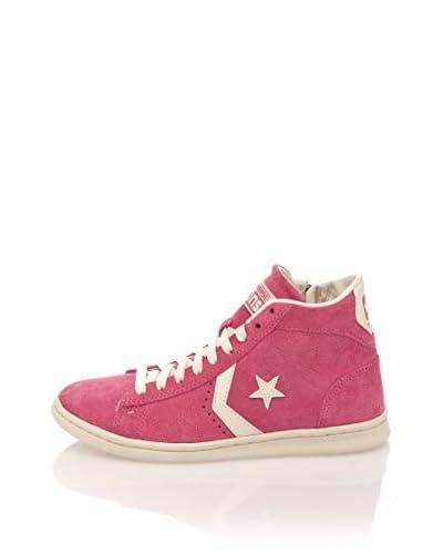 Converse Sneaker Pro Leather Lp Mid Suede Zip T [Rosa]