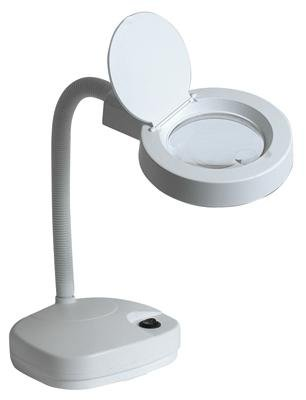 Duratool Desk Top Led Magnifier Lamp With Flexible Gooseneck- 60 Leds