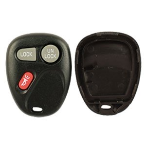 1999-2002 Chevrolet Silverado Keyless Entry Remote Replacement Case and Pad (no electronics included) and Free World Wide Remotes Guide