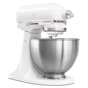 KitchenAid KSM95PWH - Ultra Power Series Mixer, 4-1/2 Qt, White w/ Komen Pink Band