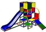 Moveandstic Spielturm JULIAN mit 2 Rutschen thumbnail