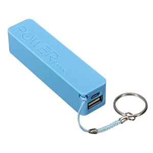 Bleu 2600mAh USB Chargeur Batterie Externe Pr iPhone 5 4S Samsung Galaxy S4 S3 S2 HTC: Amazon.fr
