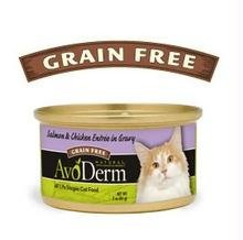 Avoderm Natural Salmon & Chicken Entree In Gravy - 24X3 Oz front-82624