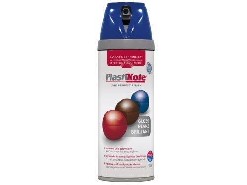 Plasti-kote 21111 400ml Premium Spray Paint Gloss - Pacific Blue