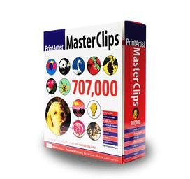Print Artist Master Clips 707,000 (29 Cd-Rom Set For Pc) front-803039