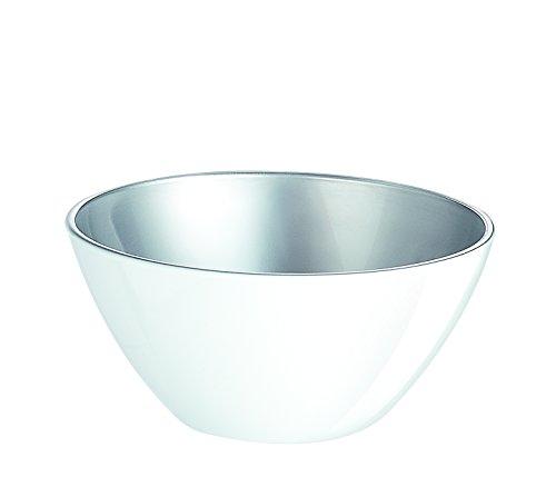 Luminarc 8011525.0 Flashy Colors Saladier Verre Blanc 17,0 x 17,0 x 8,0 cm