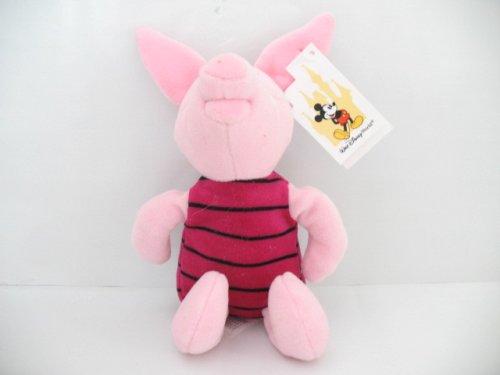 "Disney Winnie the Pooh 8"" Piglet Bean Bag Plush - 1"