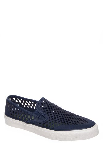 Sperry Top-Sider Men's Cloud Logo Cvo Laser Perf Slip On Sneaker