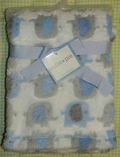 Cutie Pie Baby Blanket with Elephants - 1