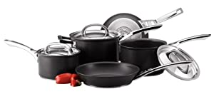 Circulon Infinite Hard Anodised Cookware Set, 5-Piece
