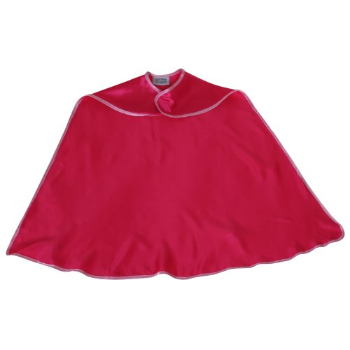 Storybook Wishes Hot Pink Satin Cape w/Pink Trim - 1