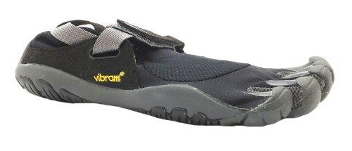 Women's Treksport Vibram Five Fingers Black/charcoal Velcro Barefoot Running Trainers