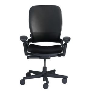 steelcase leap v1 high back leather office