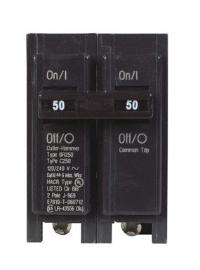 Double Pole Circuit Breaker (BR250) (Cutler Hammer Breaker Panel compare prices)