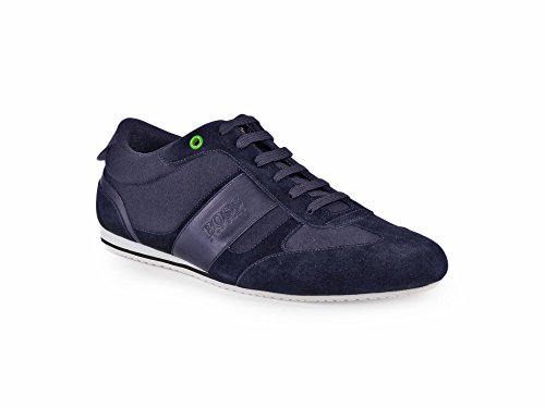 Boss Green Lighter Lowp Herren Sneaker Blau thumbnail