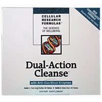 colon cleanse pills Cellular Research Formulas - Dual-Action Cleanse - 60 Tabs Total Body Purifier + 90 Tabs Colon Clear