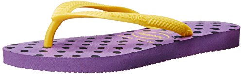 Havaianas Slim Fresh Flip Flops (Toddler/Little Kid), Dark Purple, 33-34 BR(3, 4 M US Little Kid)