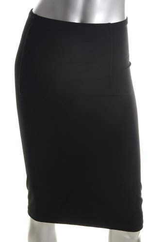 Elizabeth and James Black Stretch Pencil Skirt Sale S