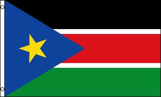 South Sudan national flag