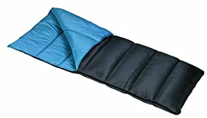 Mountain Trails Allegheny 25-Degree Oversized Sleeping Bag (Black/Blue)