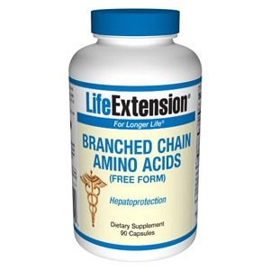 Life Extension, BRANCHED CHAIN AMINO ACIDS 90 CAPSULES