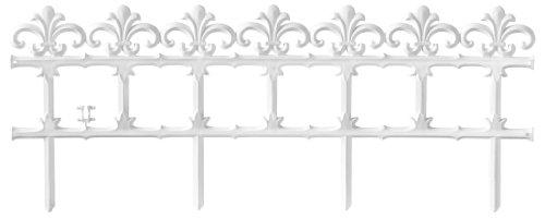 Connex White Garden Border Fence 90 X 35 CM