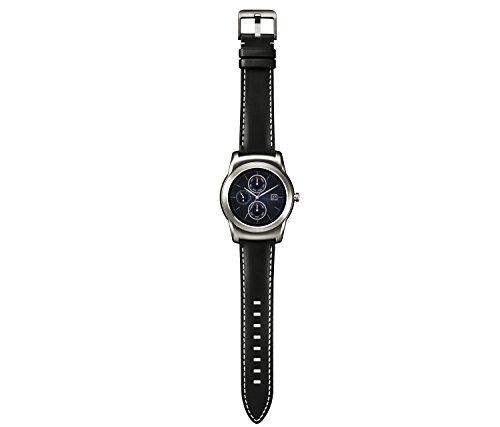 LG Watch Urbane Smartwatch (3,3 cm (1,3 Zoll) P-OLED Display, Android Wear) silber 7
