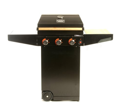 Minden Grill Company MMC1000 Master Natural Gas Grill, Classic Black