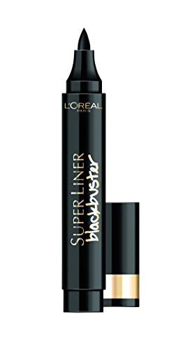 L'Oréal Make Up Designer Paris Super Liner Black Buster Eyeliner, Intense Black