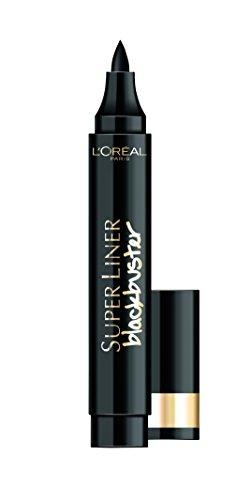 L'Oréal Make Up Designer Paris Super Liner Black Buster Eyeliner, Intense Black