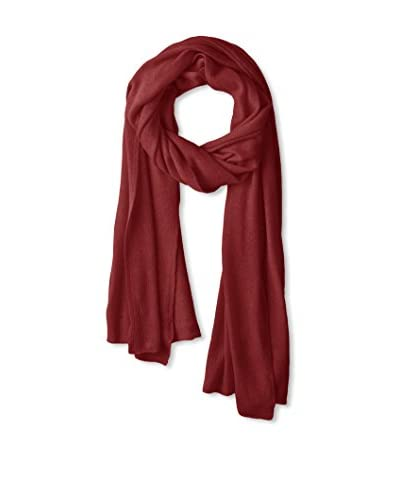 Portolano Women's Light Weight Cashmere Wrap, Dk Bordeaux