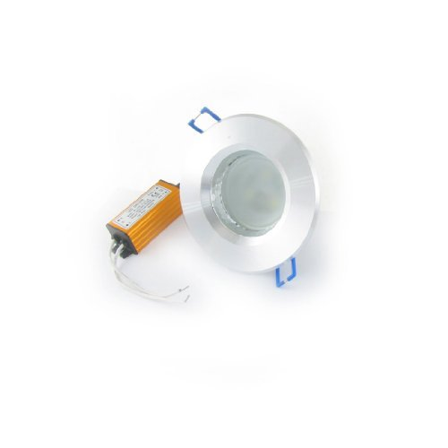 Water & Wood Ac 85-265V 3W 6000-6500K Ceiling Cabinet Recessed White Led Downlight Lamp 3 X 1W