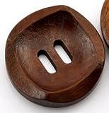 木のボタン 30mm ウッドボタン (直径3.0cm)