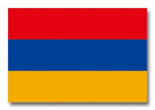 世界の国旗ポストカードシリーズ <ヨーロッパ> アルメニア共和国 Flags of the world POST CARD <Europe> Republic of Armenia