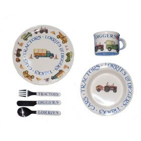 Emma Bridgewater – Men At Work Melamine Set