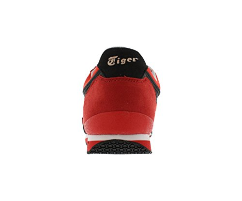 Onitsuka Tiger by Asics Unisex Ultimate 81? Fiery Red Sneaker Men's 9.5, Women's 11 Medium