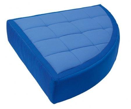 Wesco 21298 Cocoon Giant Quarter Circle Pouffe Firm Foam Interior Cushion front-371392