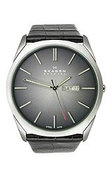 Skagen Steel Collection Black Degrade Dial Men's Watch #890XLSLM