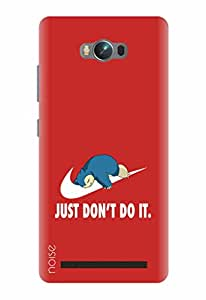 Noise Designer Printed Case / Cover for Asus Zenfone Max ZC550KL / Animated Cartoons / Just Do It Design
