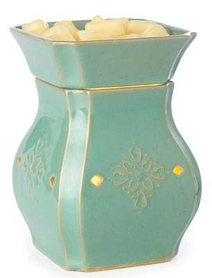 Candle Warmers Illumination Candle Warmer, Vintage Turquoise