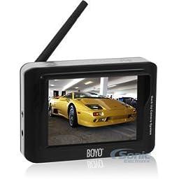 Boyo VTX3600 3.6-Inch Wireless Monitor and Transmit
