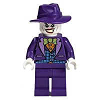 Lego Joker Minifigure with Wide brim Hat