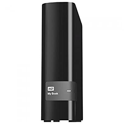 WD 4TB External Hard Disk My Book WDBFJK0040HBK