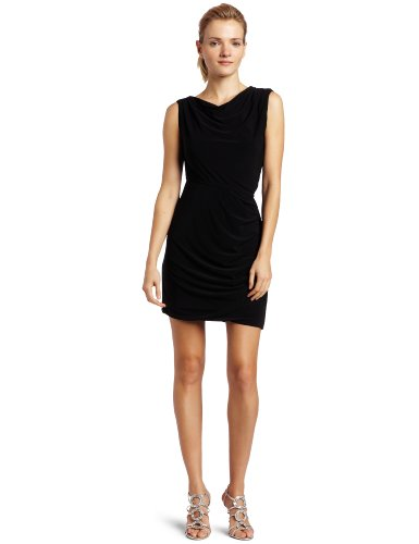 Halston Heritage Women's Twisted Skirt Mini Dress