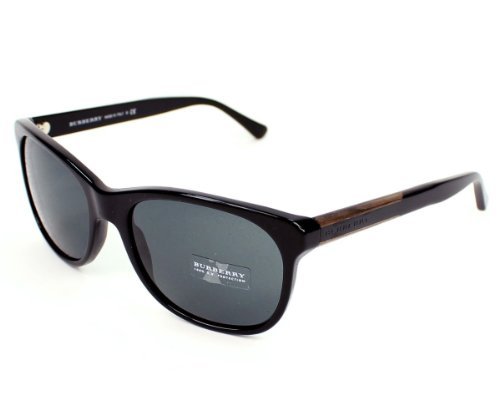 Burberry  Burberry BE4123 Sunglasses-3001/87 Black (Gray Lens)-57mm
